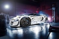 Picture Super, Garage, Blanc, Ligth, Veyron, Pur, Bugatti, Sport, White, Supercar, Smoke