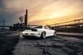 Picture Mazda, Car, Sun, White, RX-7, BBS, Wheels, Rear, Swap, LS1