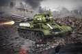Picture tank, USSR, USSR, tanks, WoT, World of tanks, tank, World of Tanks, tanks, Wargaming.Net, Flash, ...