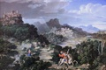 Picture Neue Pinakothek, Heroic Landscape with Saint George, Joseph Anton Koch, Austrian artist-romantic, Joseph Anton Koch, ...
