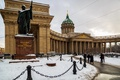 Picture The city, Peter, Kazan Cathedral