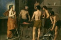 Picture picture, mythology, The Forge Of Vulcan, Diego Velazquez