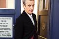 Picture look, shirt, TARDIS, actor, jacket, Peter Capaldi, The Twelfth Doctor, male, Twelfth Doctor, Doctor Who, ...