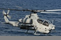 Picture the ocean, flight, AH-1F Cobra, helicopter gunships, Bell Helicopter Textron