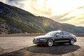Picture mountains, Audi, Audi, black, wheels, black, frontside