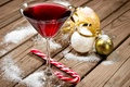 Picture New year, Christmas decorations, decor, Christmas, drink, wine