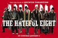 Picture Tarantino, The Hateful Eight, disgusting eight