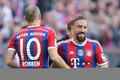 Picture football, Allianz Arena, Bayern Munich, Robben, Frank Ribery