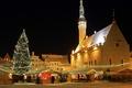 Picture home, Christmas, Estonia, lights, town hall, tree, Tallinn, market, shop, Estonia, Tallinn