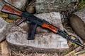 Picture weapons, background, machine, Kalashnikov, AK-74