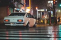 Picture street, the transition, night, night, datsun, Datsun