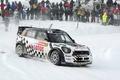 Picture White, Snow, People, Race, Mini Cooper, WRC, MINI, Mini Cooper