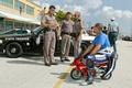 Picture arrest, police, motorcyclist, humor