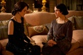 Picture the series, characters, actress, Downton Abbey, Michelle Dockery, Sybil Crawley, Mary Crowley, Jessica Brown Findlay