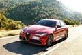 Picture Red, Alfa Romeo, Alfa Romeo, The front, Giulia