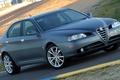 Picture Alfa Romeo, Car, Front, Alfa, Romeo, Sedan, Track, 166, Alfa Romeo 166, Alfa 166