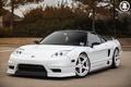 Picture honda, Honda, tuning, vtec, japan, nsx, acura, face, white, wheels, front, black, white, jdm