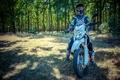Picture trees, helmet, motocross, equipment, Shineray