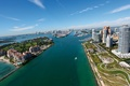 Picture the sky, the city, the ocean, Miami
