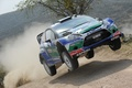Picture jump, dust, ford, rally, rally, wrc, fiesta, Petter Solberg