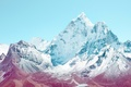 Picture apple, mountain, rocks, snow, ios