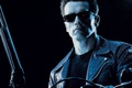 Picture glasses, Terminator 2, Arnold Schwarzenegger, shotgun