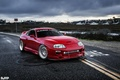 Picture red, tuning, supra, japan, toyota, power, turbo, jdm