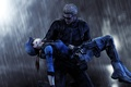 Picture Jill Valentine, Resident Evil 5, fanart, Biohazard 5, Albert Wesker, rain