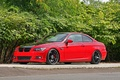 Picture red, tuning, bmw, BMW, coupe, red, e92, black rims