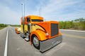 Picture road, large, truck