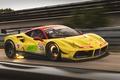 Picture GT3, Car, Track, Yellow, Race, Ferrari, 488, Speed, GTB