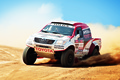 Picture Machine, Auto, Toyota, The front, Speed, Day, Rally, Sport, Dakar, SUV, Rally