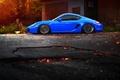 Picture porsche cayman, Porsche, car, tuning, tuning, blue, stance
