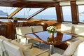 Picture furniture, cockpit, deck, luxury motor yacht GLORIOUS