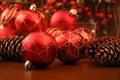 Picture balls, holiday, Christmas decorations, red, bumps, Christmas, new year, Christmas, New year, balls