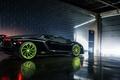 Picture Lamborghini, Black, Color, LP700-4, Aventador, Wheels, Rear, B-Forged, 393
