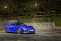 Picture night, blue, GT4, cayman, porsche