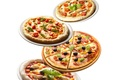 Picture olives, Fast food, tomatoes, sausage, cheese, pizza, tomato, cheese, pizza, sausage, mushrooms