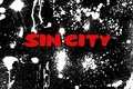 Picture white, red, abstraction, paint, black, Sin City