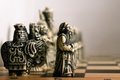 Picture pawn, figure, Board, chess, elephant