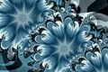 Picture flowers, abstraktsiya, art, abstraction