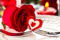 Picture romance, heart, rose, red, heart, romantic, Valentine`s day, Valentine's day