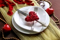 Picture love, romance, heart, petals, plate, love, heart, romantic, Valentine's Day, serving