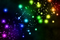 Picture balls, background, colored, lights