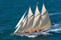 Picture nature, people, the ocean, ship, sailboat, beautiful