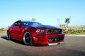 Picture Mustang, Ford, GT500, Red, Machine, Tuning, Ford, Desktop, Mustang, Muscle, Red, Car, Car, Beautiful, Wallpapers, ...