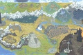 Picture The Lord of the rings, Middle earth, Figure, The Lord of the Rings, Map, LOTR, ...