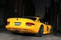 Picture Dodge, Viper GTS, night, yellow