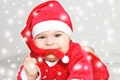 Picture New Year, baby santa, holiday, Christmas, New Year, baby, Christmas, child, santa
