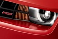 Picture chevrolet, headlight, red